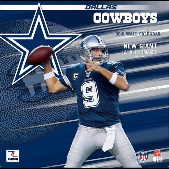 NFL Other - 2016 Cowboys Calendar